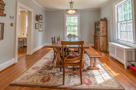 best rug for under dining room table