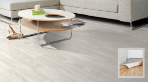 can you use rubber backed rugs on vinyl plank flooring