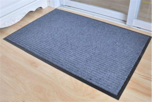 door mat without rubber backing