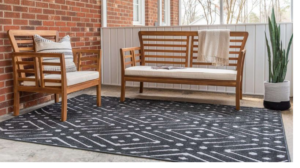 outdoor rug that doesn't hold water