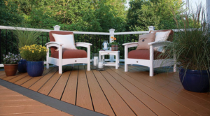 outdoor rug safe for composite decks