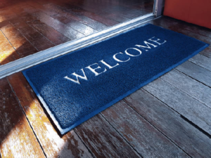 Best doormat for wood deck