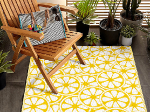 outdoor rugs that dry quickly