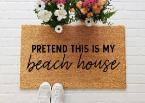 best doormat for beach house