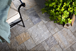outdoor mats that don't stain concrete